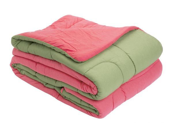 05f364bfc3 Menor preço em Edredom Liverpool Casal Dupla Face 1 Peça Pink com Pistache  - Vilela