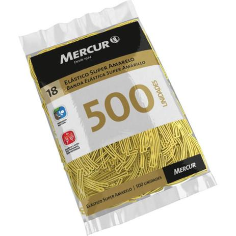 Imagem de Elastico Amarelo N.18 Super 500Pcs Mercur