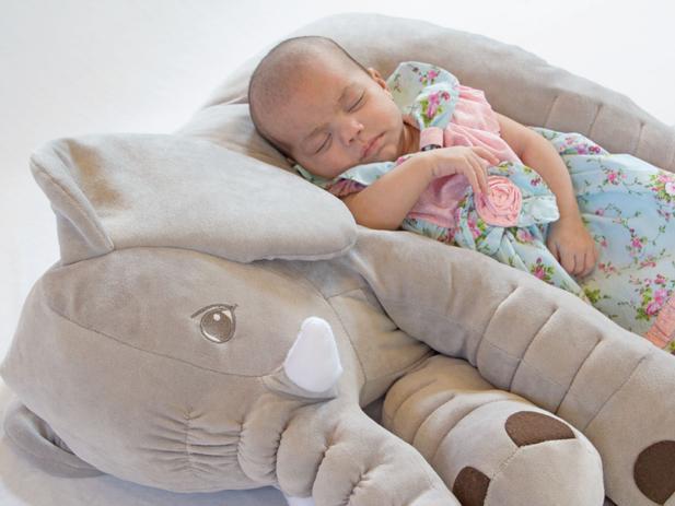Imagem de Elefante Soninho de Pelúcia Plush 60cm