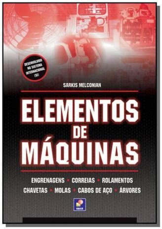 Imagem de ELEMENTOS DE MAQUINAS - 9a ED
