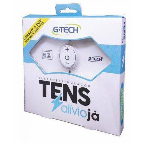 Imagem de Eletroestimulador Recarregável Tens Gtech Alívio Das Dores