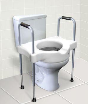 Imagem de Elevador Assento Sanitario Com Alca Sit 5 Carci