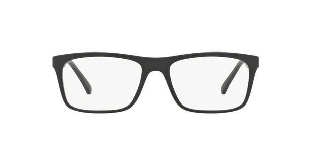 65b1ee6d4c371 Emporio Armani EA3101 5042 Preto Fosco Lente Tam 55 - Óculos de grau ...