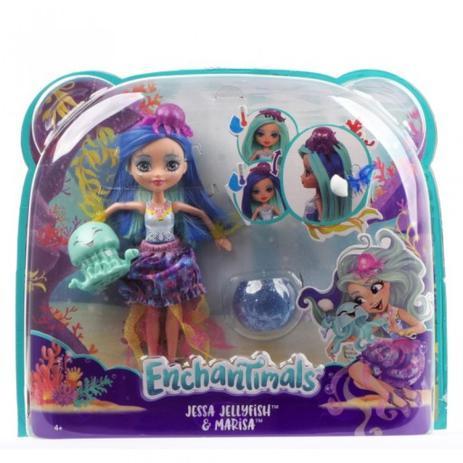 d856b9e013 Enchantimals Jessa e Jellyfish FKV57 - Mattel - Bonecas - Magazine Luiza