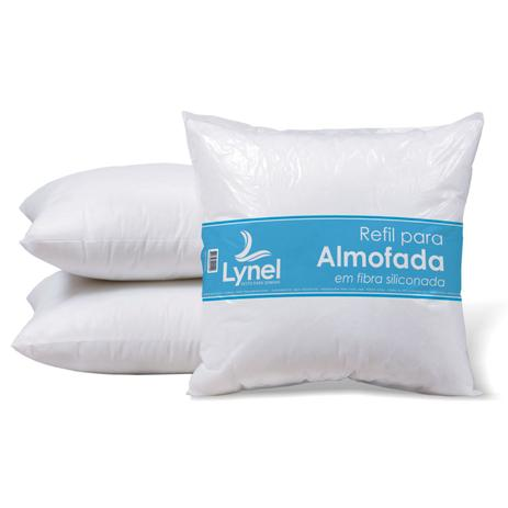 17a9dc834 Enchimento para Almofada com Fibra Siliconada - Lynel - Enchimento ...