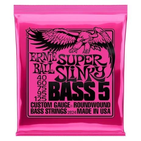 Imagem de Encordoamento 040-125 baixo 5 cordas super slinky ernie ball