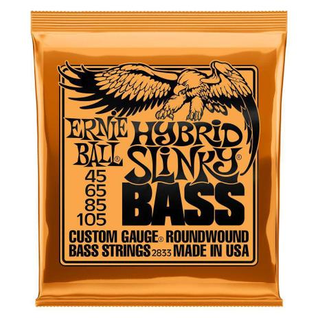 Imagem de Encordoamento 45-105 Baixo 4C hybrid slinky Ernie Ball 2833