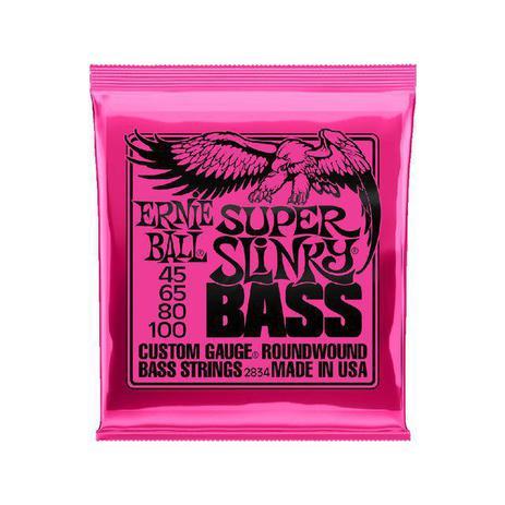 Imagem de Encordoamento Baixo Ernie Ball 2834 045 Super Slink 4 cordas
