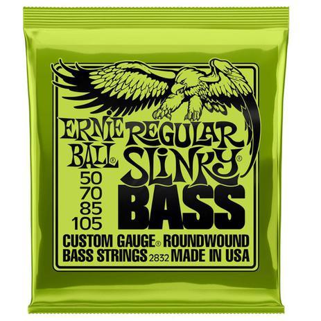 Imagem de Encordoamento Baixo Regular Slinky Niquel P02832 Ernie Ball
