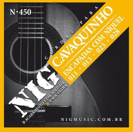 Imagem de Encordoamento de Cavaco Nig N450 0.11