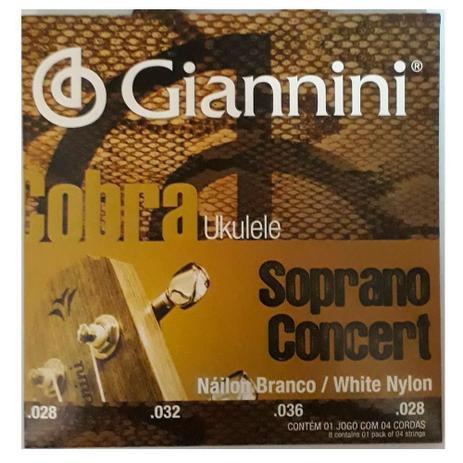 Imagem de Encordoamento Giannini GEUKSC .028/.028 para Ukulele Concert