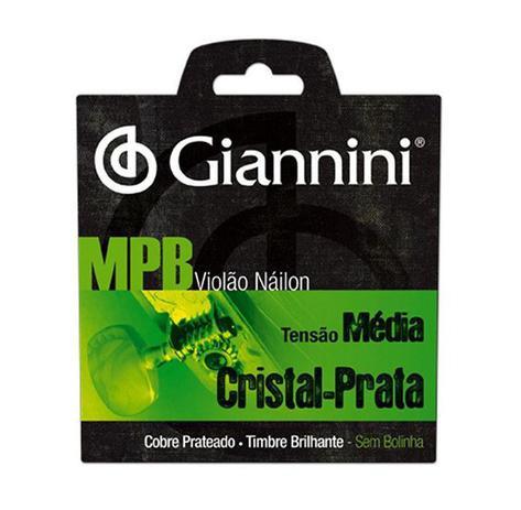 Imagem de Encordoamento Giannini MPB para Violão Nylon