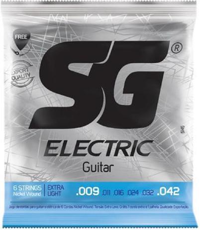 Imagem de Encordoamento Naquel para Guitarra 009 EXTRA LIGHT - Sg
