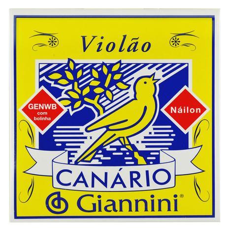 Imagem de Encordoamento Nylon para Violão com Bolinha - Giannini