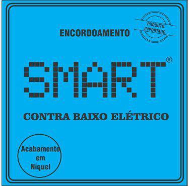 Imagem de Encordoamento Para Contra Baixo 4 Cordas Smart Niquel 045