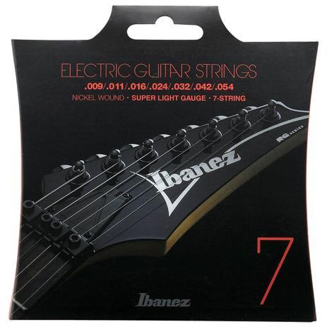 Imagem de Encordoamento Para Guitarra Ibanez Iegs7 009 7 Cordas