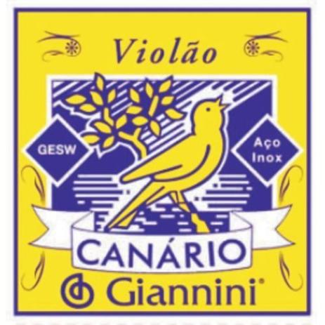 Imagem de Encordoamento para Violao GESW Serie Canario ACO Media Giannini