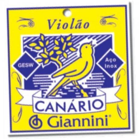 Imagem de Encordoamento para Violao GESWB Serie Canario ACO 0.11 Giannini