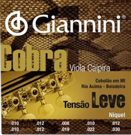 Imagem de Encordoamento Viola Leve Cobra Gianini - Giannini