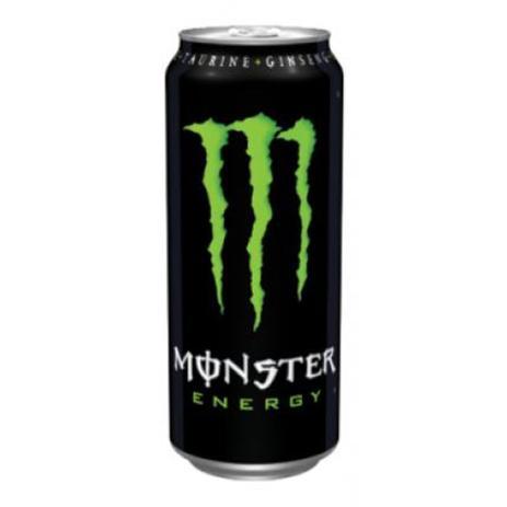 Imagem de Energético Monster Lata com 6 unidades de 473ml