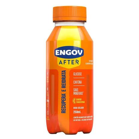 Imagem de Engov After Tangerina 250mL Bebida Reidratante (Glicose+Caf)