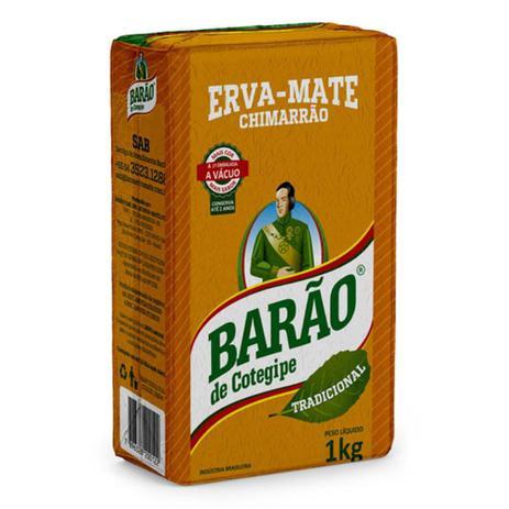 Imagem de Erva Mate Chimarrão Barão Tradicional a Vácuo 1 Kg