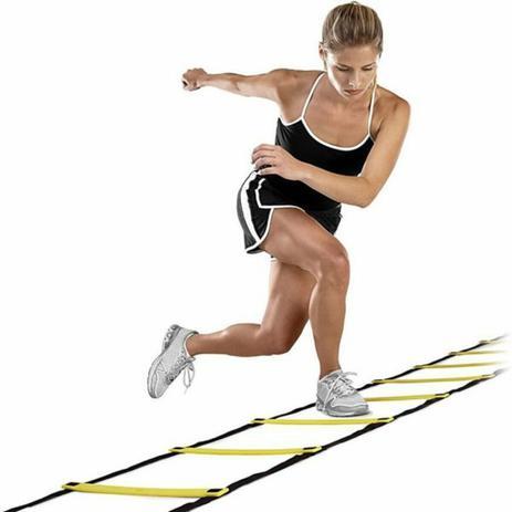 Escada de agilidade - 10 degraus - 4,5m - treino funcional - Pentagol -  Escada de Agilidade - Magazine Luiza