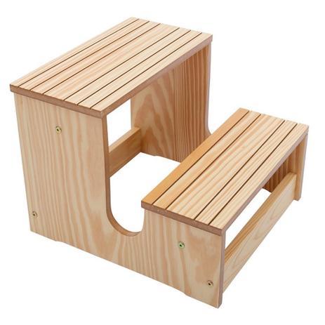 Imagem de Escada Escadinha Dois Degraus Para Maca E Depilação