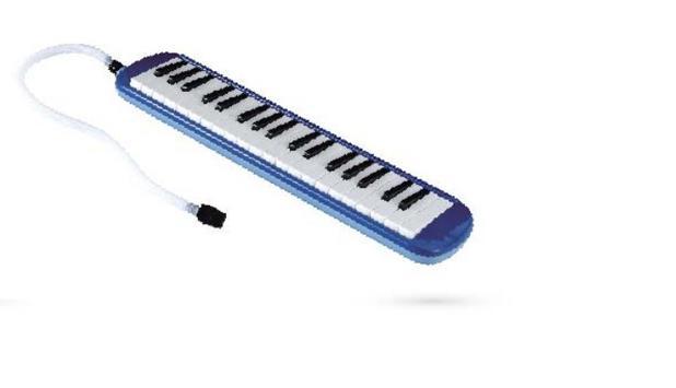 Imagem de Escaleta 37 Teclas Com Case Plástico - Azul