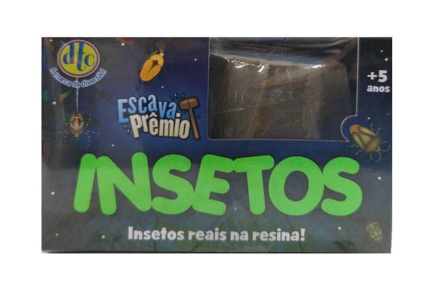 Imagem de Escava Prêmio Insetos Reais Na Resina DTC 4997