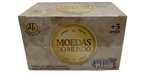 Imagem de Escava Prêmio Moedas do Mundo - Dtc