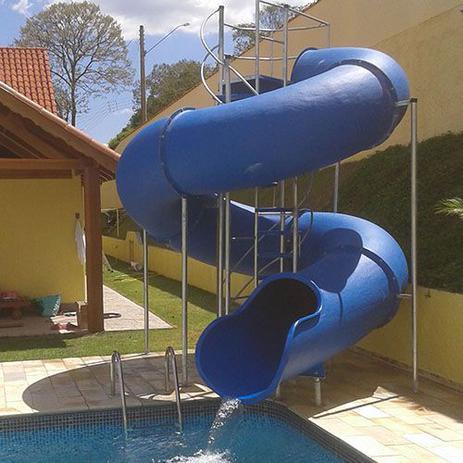 Imagem de Escorregador toboágua de 13 m para piscina