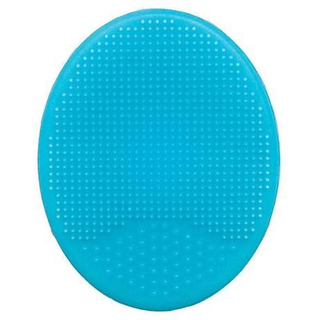 Imagem de Escova de Banho Baby em Silicone Azul - Buba
