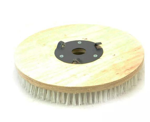 Imagem de Escova de Pelo COM flange 300 mm para enceradeira Cleaner
