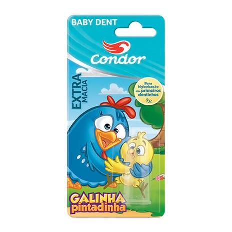 Imagem de Escova Dental Massageadora Condor Baby Dent Galinha Pintadinha 1 Unidade