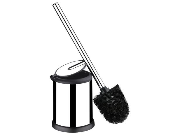 Escova para Banheiro com Suporte Inox Brinox - Decorline Easy