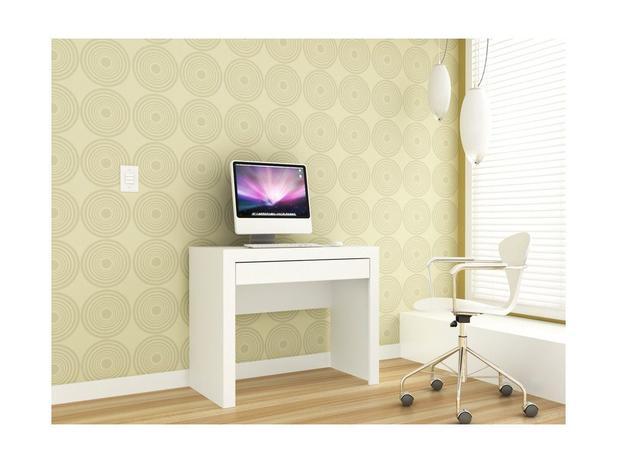 Imagem de Escrivaninha e Mesa para Computador Msm 421 - Branco