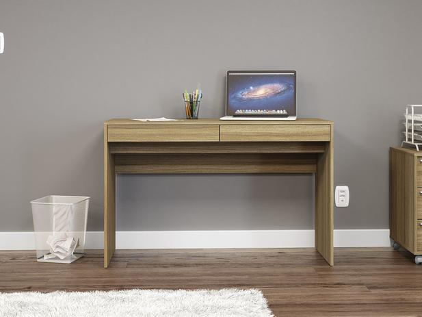 04c19fc30 Escrivaninha Mesa para Computador 2 Gavetas - Politorno Lindóia ...