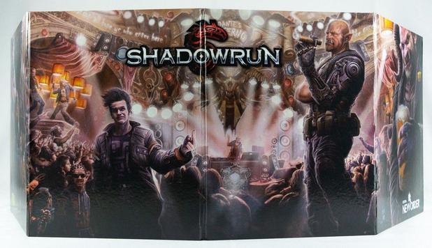 Imagem de Escudo do Mestre e Shadowrun Missões 1