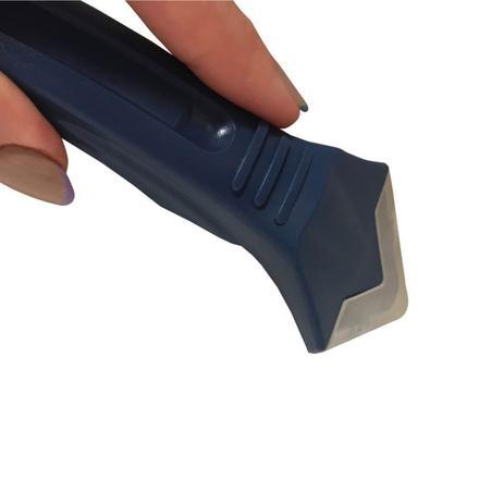 Imagem de Espatula para aplicação de rejunte e silicone plastico flux