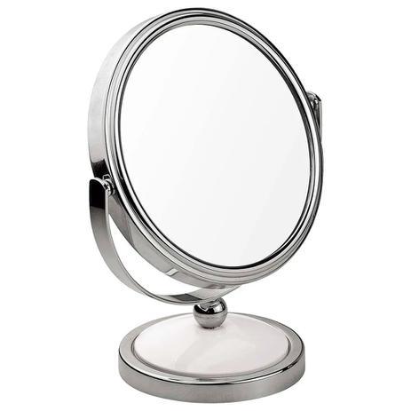 Imagem de Espelho de Aumento Dupla Face Articulado Mor