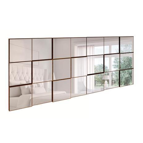 Imagem de Espelho Decorativo Anubis Retangular Nobre Fosco 175 cm