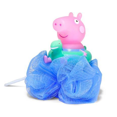 Imagem de Espoja de Banho - Peppa Pig - Azul - DTC