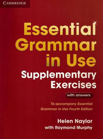 Imagem de Essential grammar in use supplementary exercicies with answers - 3rd edition