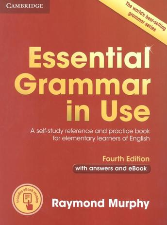 Imagem de Essential grammar in use with answers and interactive e-book - 4th ed - Cambridge University