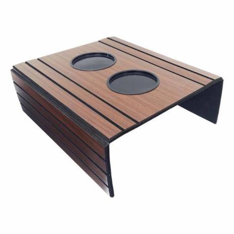 Imagem de Esteira Para Braço De Sofá Flexível Com Porta Copos