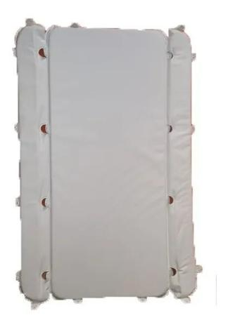 Imagem de Estofado Capa Banheira Millenia Modelo Antigo Burigotto Branco Liso