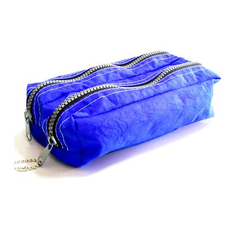934ecfb2f3a Estojo Duplo Tactel Azul Fizz - Estojo escolar - Magazine Luiza