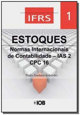 Imagem de Estoques normas internacionais de contabilidade ia - Iob