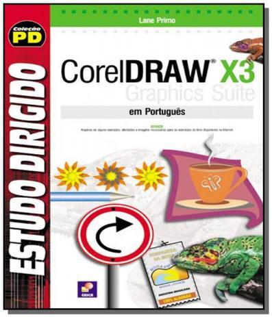 Imagem de Estudo dirigido de coreldraw x3 em portugues